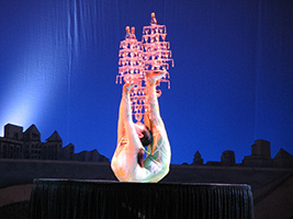 Acrobatic Show with Transfers