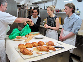 Baking Class in a French Bakery
