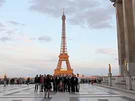 Trocadero and Eiffel Tower private half day tour