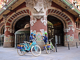Top10 Barcelona places Bike Tour