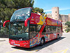 City sightseeing bus in Palma